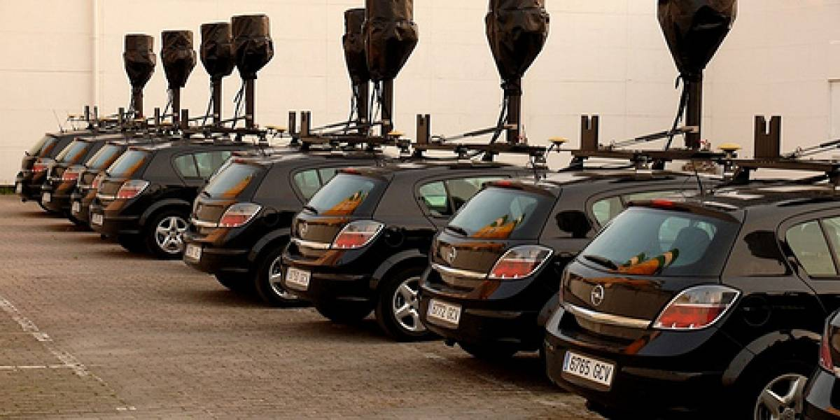 Los autos-cámara de Google Street View ya circulan por España