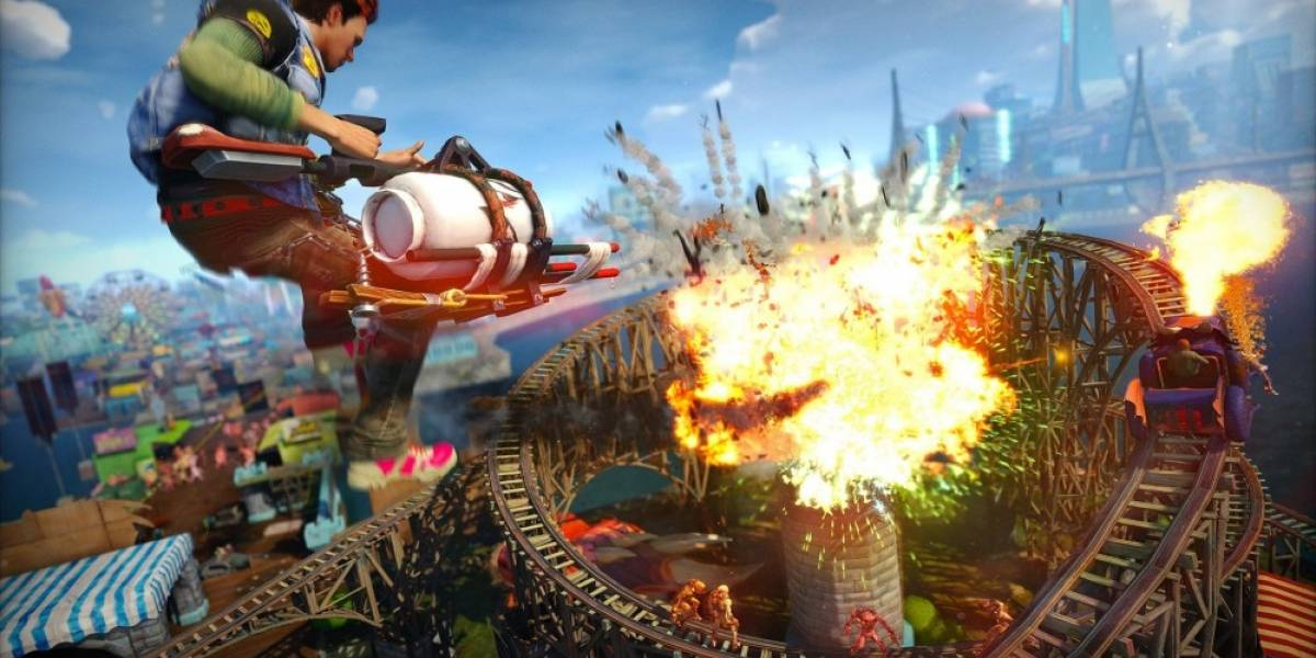 Vean la introducción cinemática de Sunset Overdrive