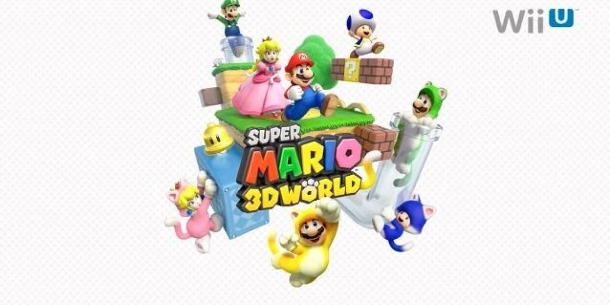 Super Mario 3D World aparecerá a la venta para Wii U este año #E3