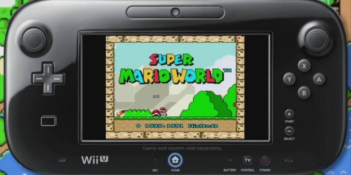 Nintendo de América anuncia oficialmente que la Consola Virtual de Wii U se lanzará el martes
