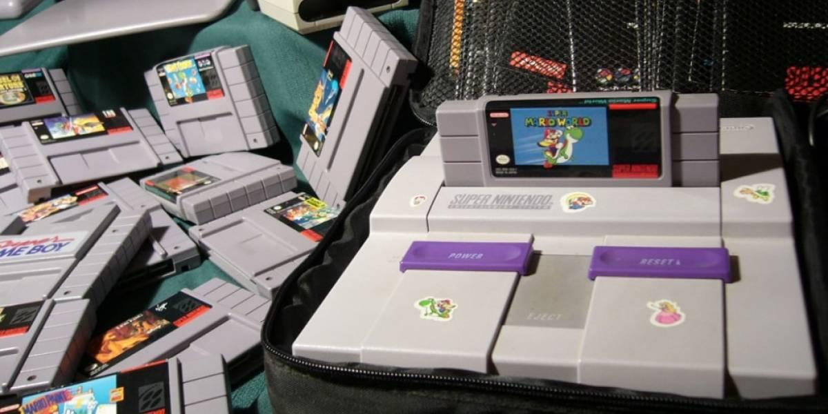Todas las pantallas de inicio de la Super NES en 9 horas