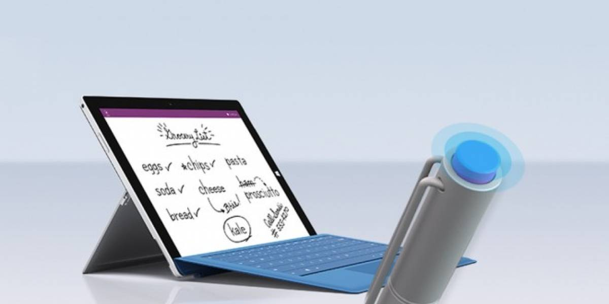 Microsoft mejora Surface Pen con integración total en Surface y OneNote