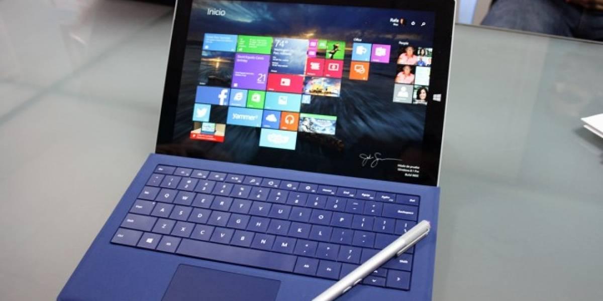 Microsoft revela por Reddit detalles del Surface Pro 3 como soporte para 4K