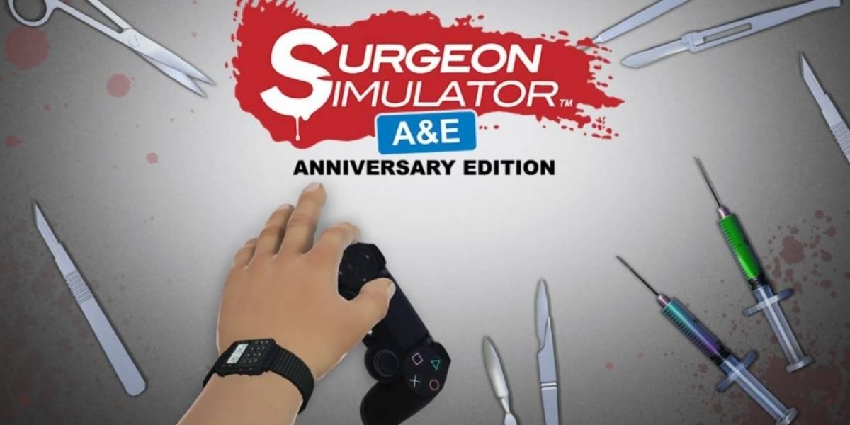 Surgeon Simulator llegará a PS4 la próxima semana