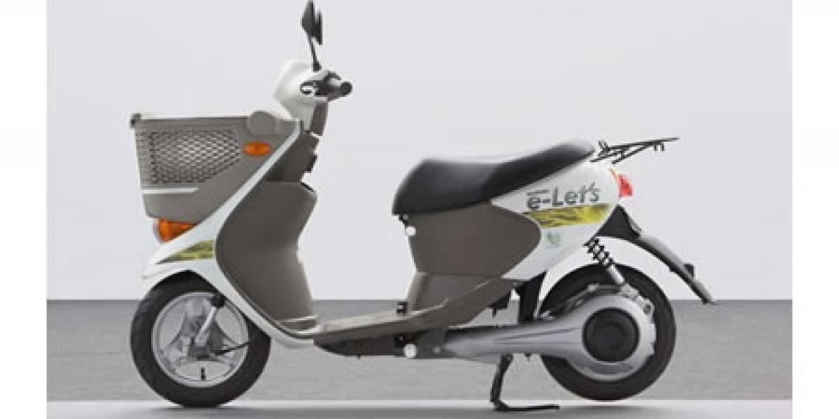 Suzuki y Sanyo desarrollan un scooter eléctrico