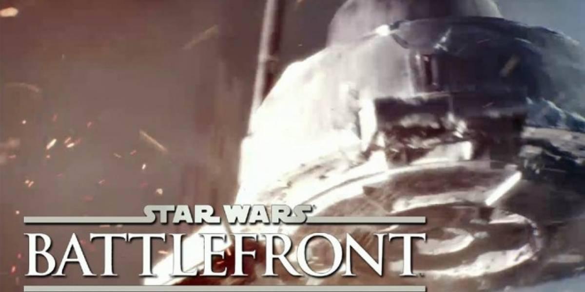DICE le rogó a EA para que lo dejaran hacerse cargo del nuevo Star Wars: Battlefront