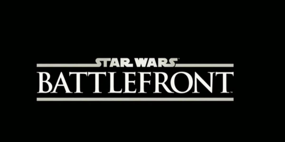 Star Wars: Battlefront se lanzará durante el 2015
