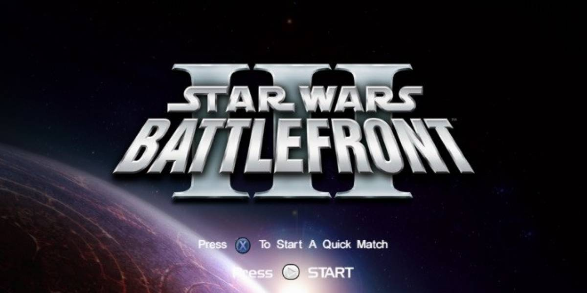 Más videos del cancelado Star Wars: Battlefront III