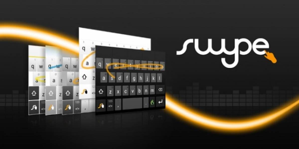 Llega Swype 1.8 con nuevos temas, teclado flotante y más