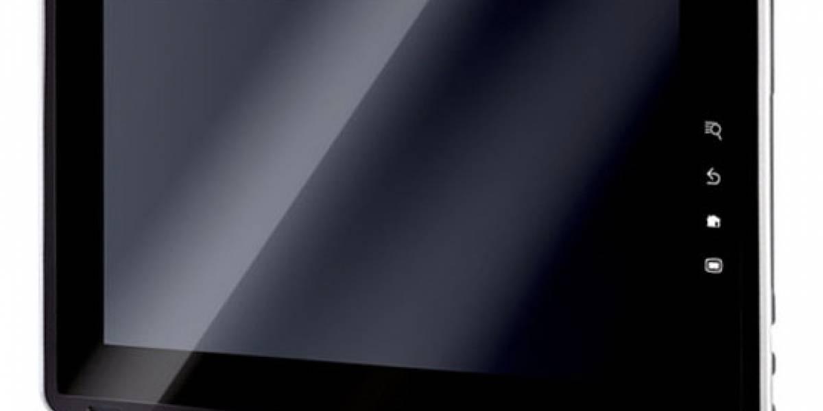 Imágenes del tablet de Toshiba filtradas