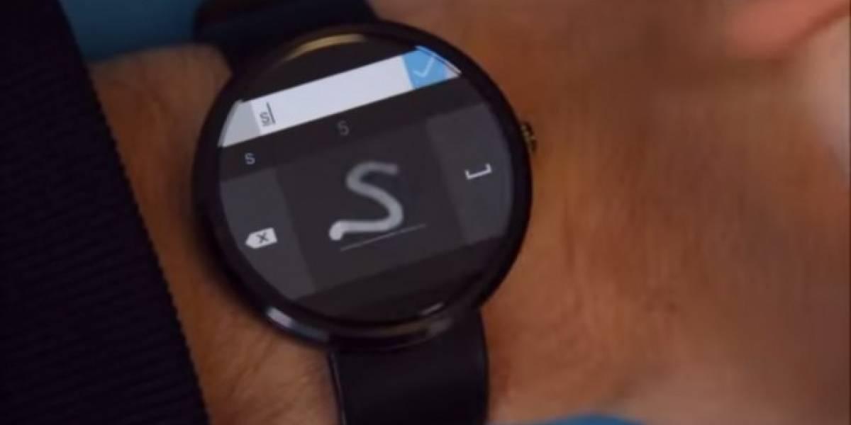 Microsoft anuncia un teclado para Android Wear