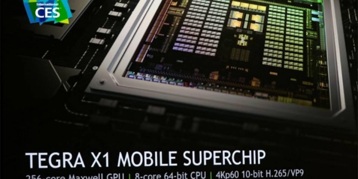 NVIDIA Tegra X1: Potencia pura para smartphones y vehículos