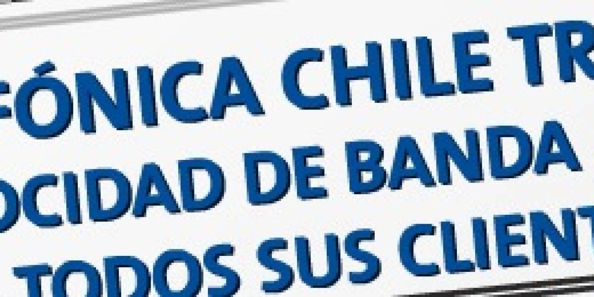 Banda Ancha Wars: Telefónica Chile también triplicará velocidades