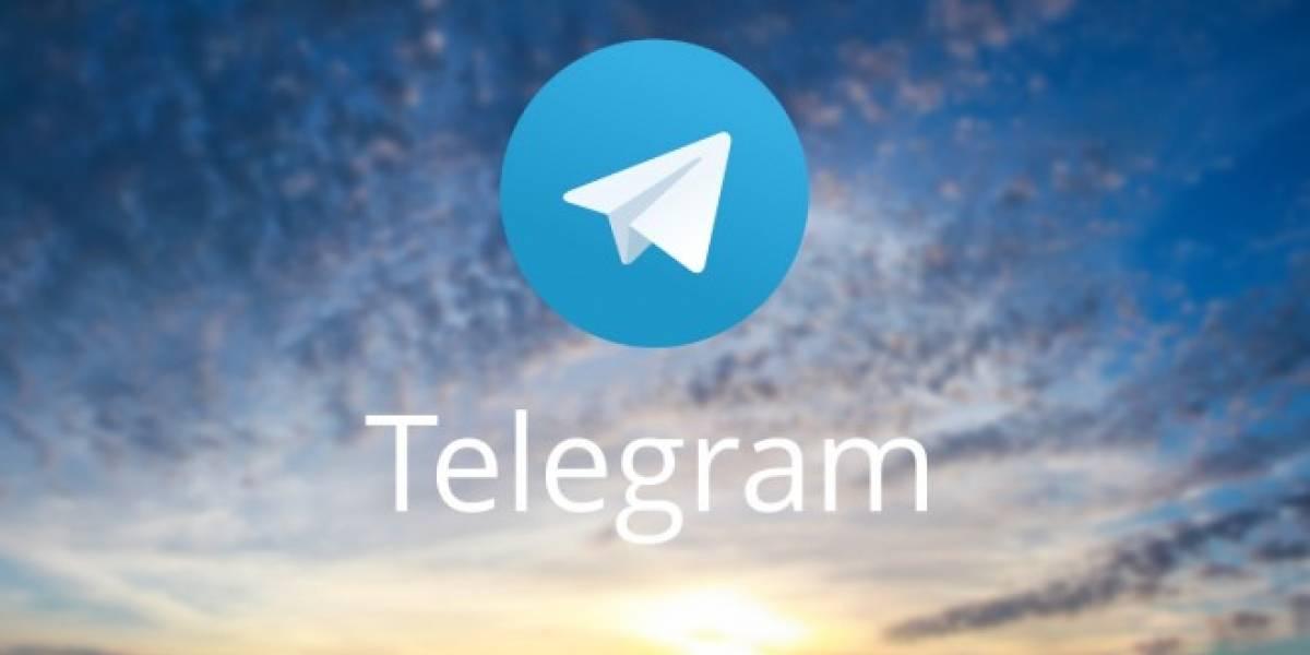 Telegram ya permite adjuntar archivos de 1.5 GB