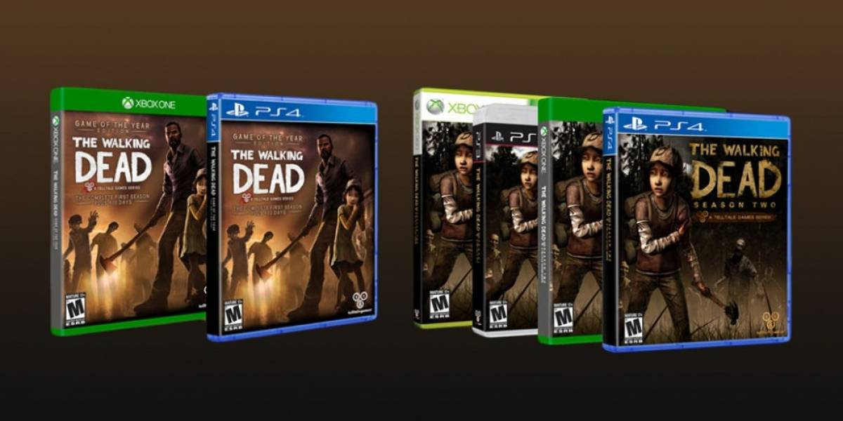 The Walking Dead y The Wolf Among Us llegarán a PS4 y Xbox One
