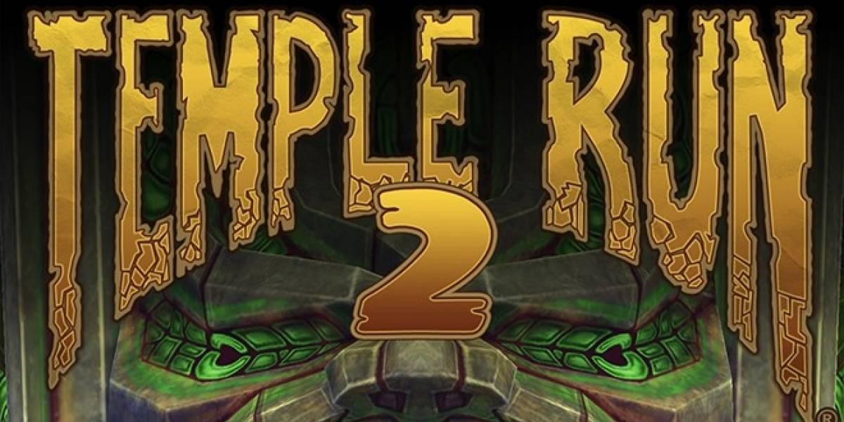 Temple Run 2 ha sido descargado más de 20 millones de veces