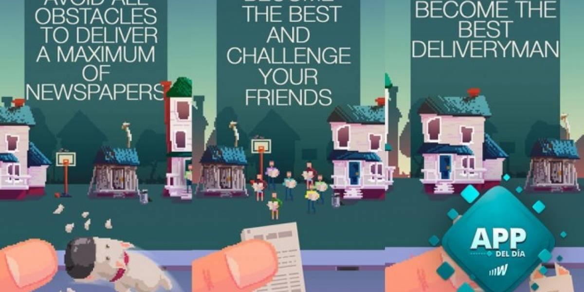 The Delivery Man, un juego altamente adictivo [App del día]