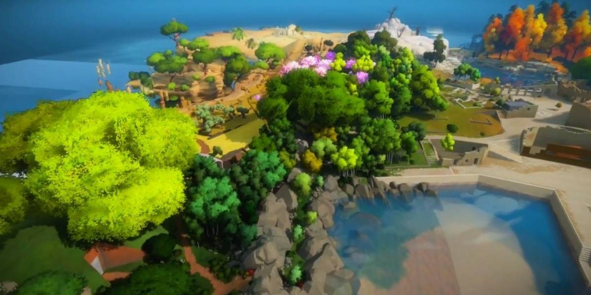 The Witness se deja ver en 10 minutos de video narrados por su creador