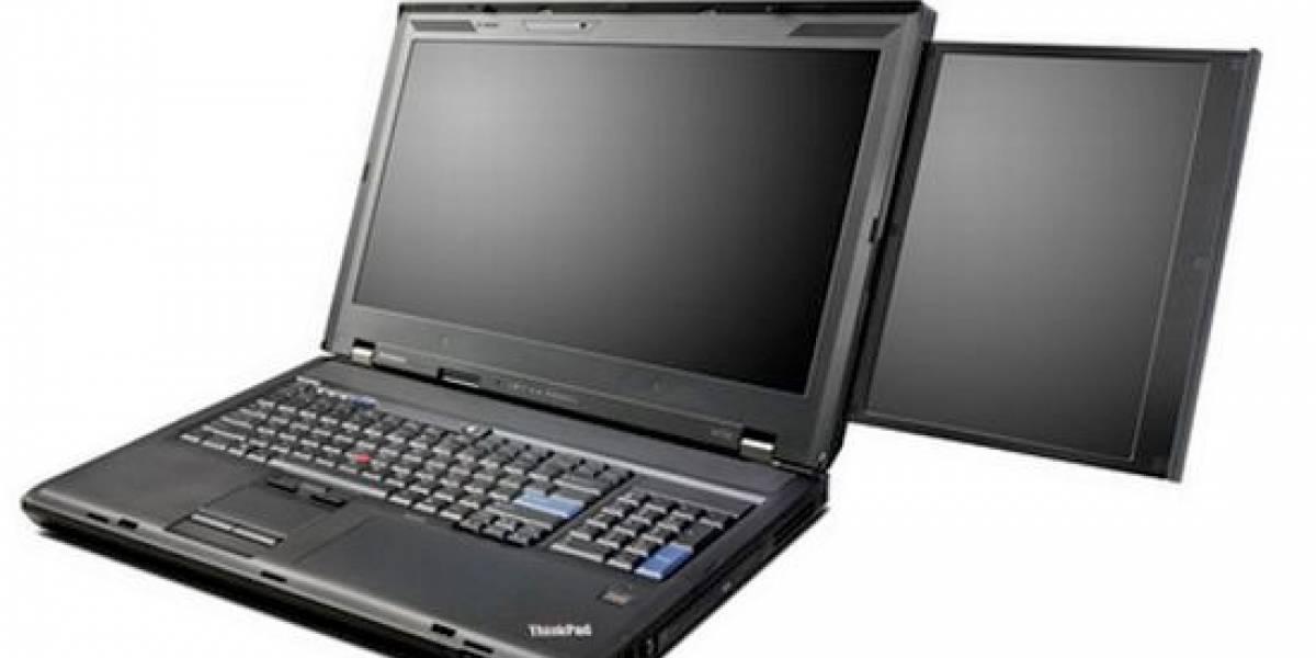 Futurología: ThinkPad W700ds poderoso y útil para diseñadores