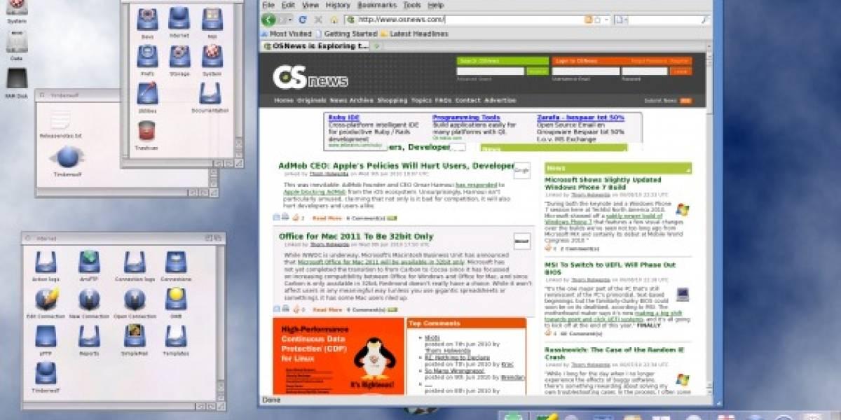 Amiga ya cuenta con su propia versión de Firefox
