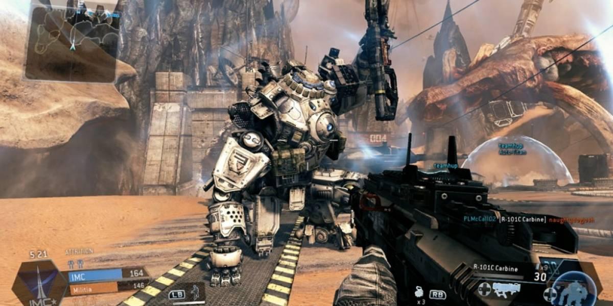 Comparativa de Titanfall en Xbox One y PC