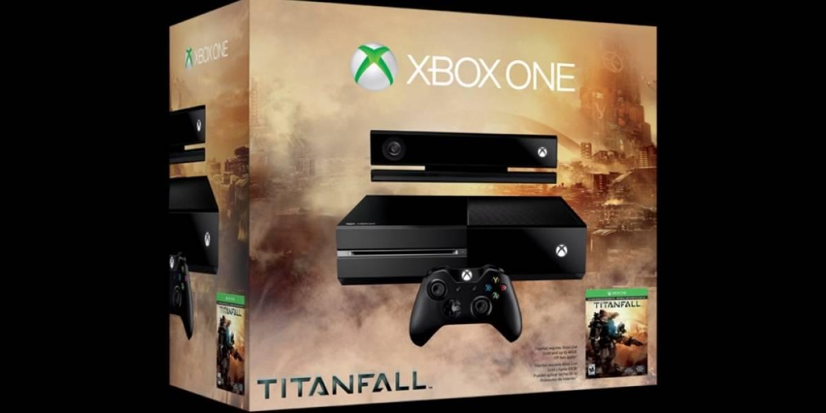 Microsoft anuncia paquete de Xbox One con Titanfall