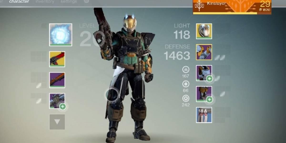 Esto es lo que un guardián de nivel 29 puede hacer en Destiny