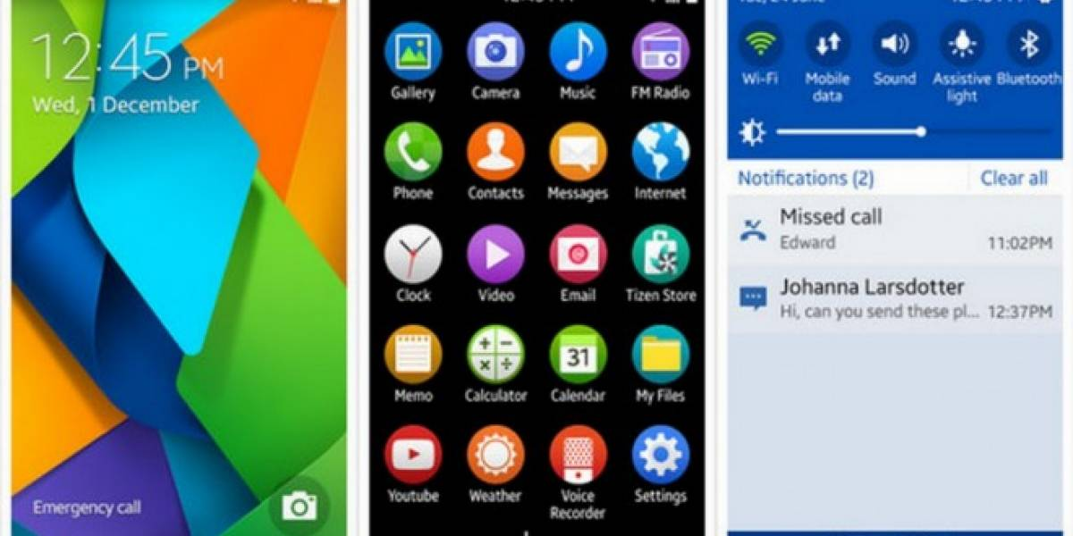Samsung optará por Tizen en smartphones de bajo nivel