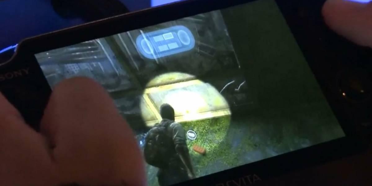 Así se juega The Last of Us en la Vita con PlayStation Now #CES2014