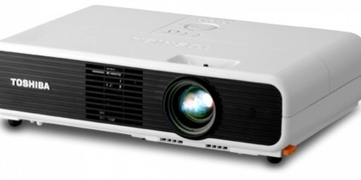 Toshiba lanza un videoproyector a prueba de noobs