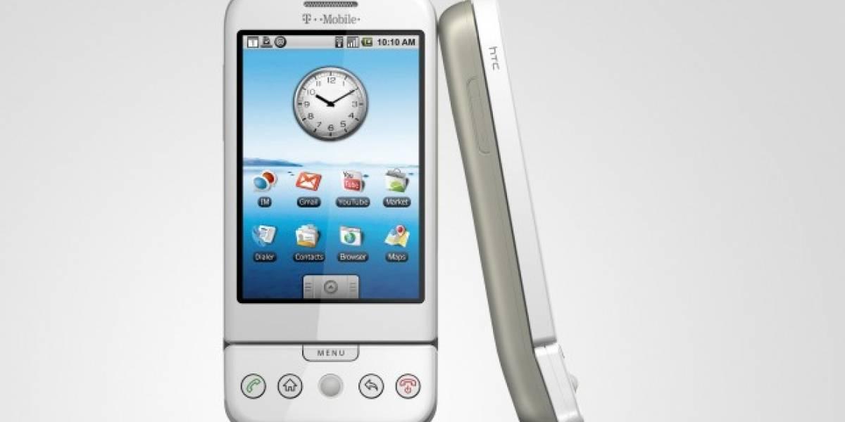 Lanzamiento oficial del T-Mobile G1 con HTC y Google