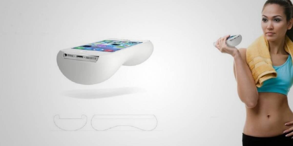La funda menos práctica para iPhone te permite hacer ejercicio con tu móvil