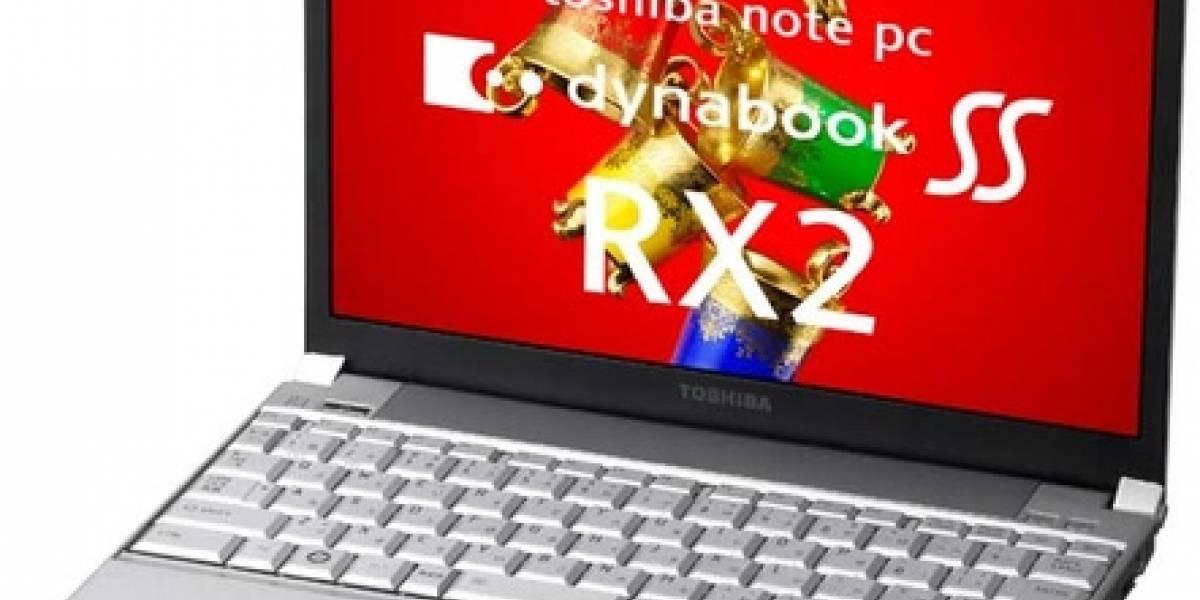 Toshiba Dynabook SS RX2: Un subnotebook de 850 gramos