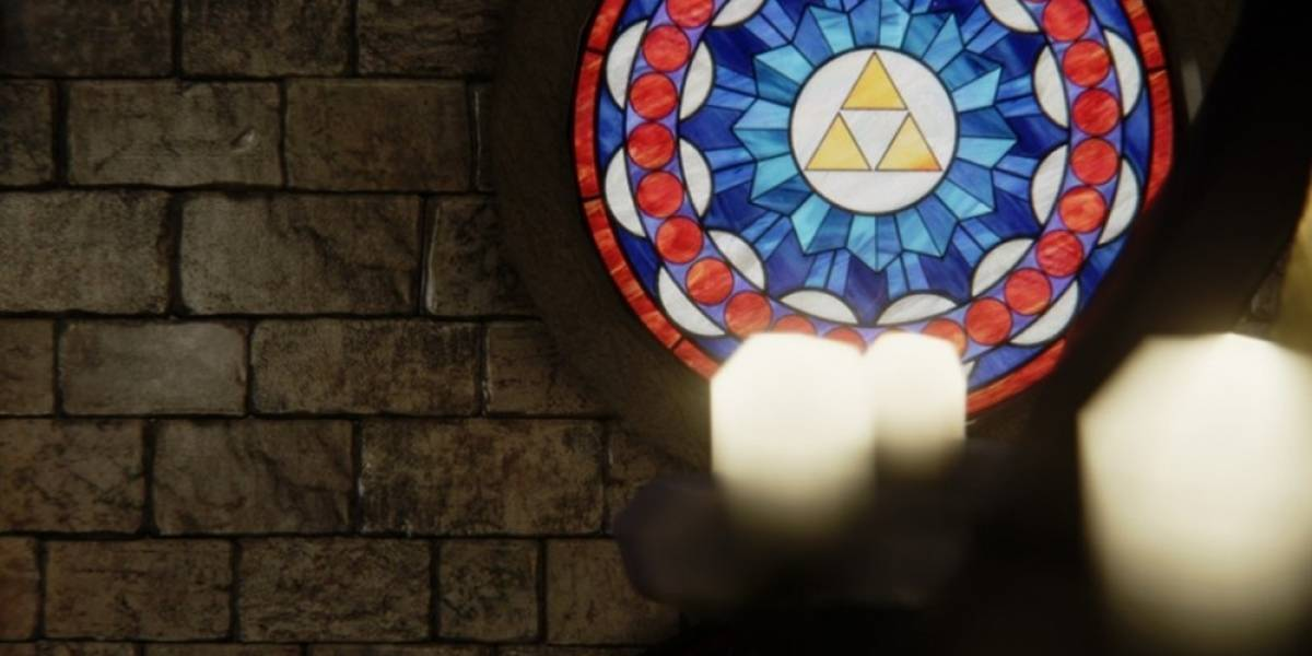 Así se ve el Templo del Tiempo de Ocarina of Time en Unreal Engine 4