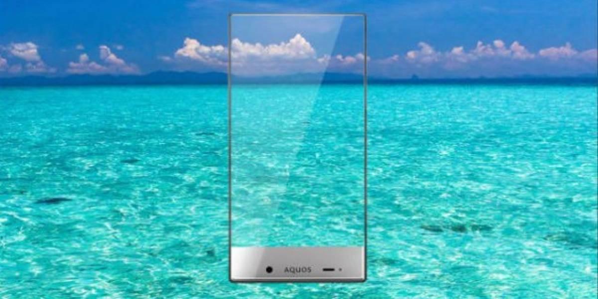 Sharp Aquos Crystal, un smartphone que casi no tiene bordes