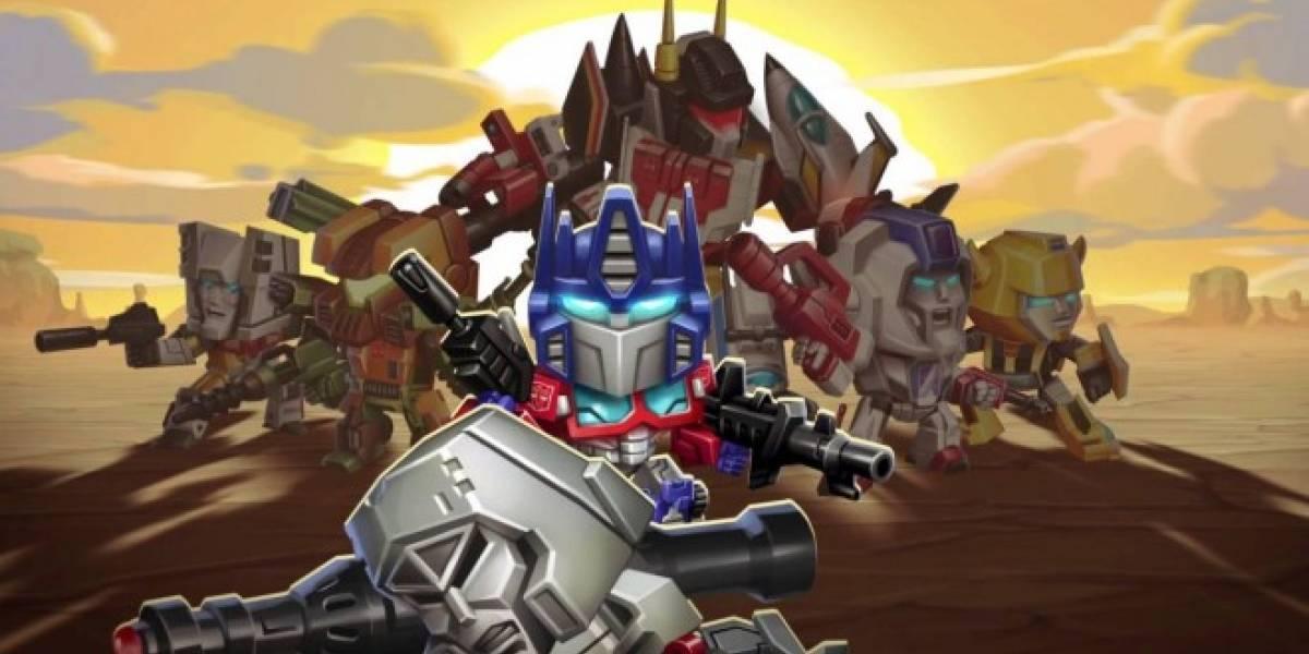 Transformers: Battle Tactics ya está disponible en iOS y Android