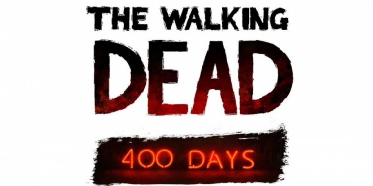 Las partidas de Walking Dead se podrán usar en 400 Days y en la segunda temporada