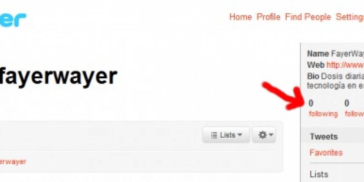 Contadores de Twitter se fueron a 0 por bug que obligaba a seguir gente