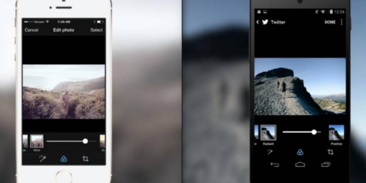 Twitter se parece más a Instagram con nuevos filtros de fotografías