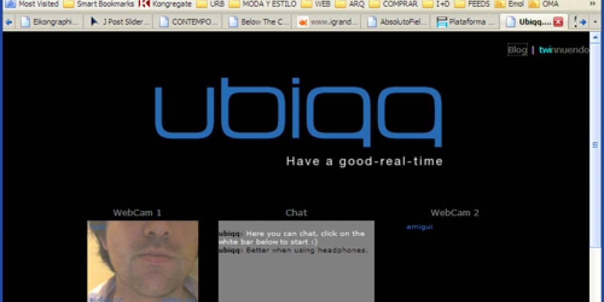 Ubiqq: Ten un buen tiempo-real