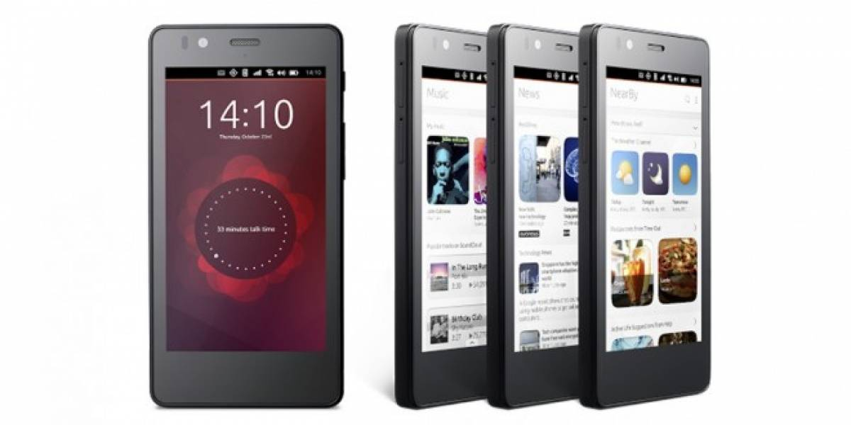 Aquaris E4.5 Ubuntu Edition es el primer smartphone con Ubuntu