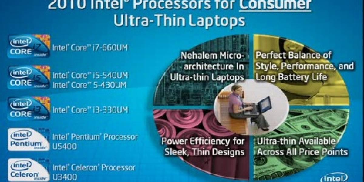 Intel anuncia nueva línea ULV