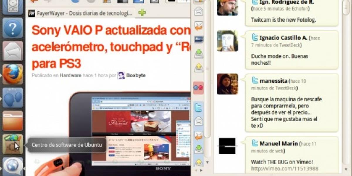 Canonical presenta avances de su interfaz para Netbooks