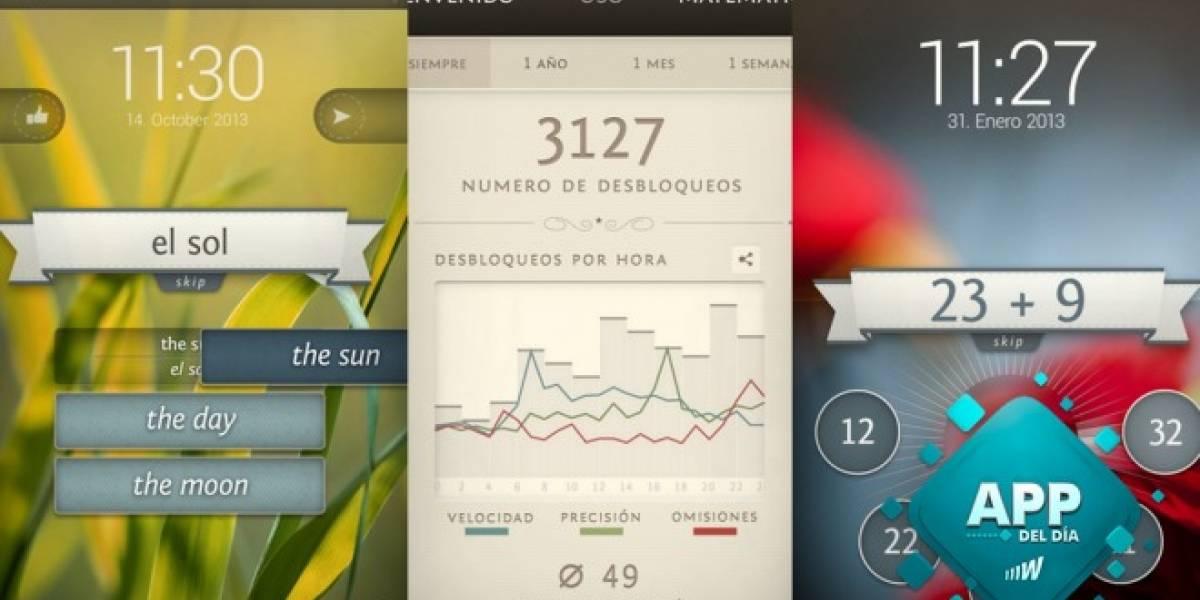 Unlock Your Brain, aprende desde la pantalla de bloqueo [App del día]