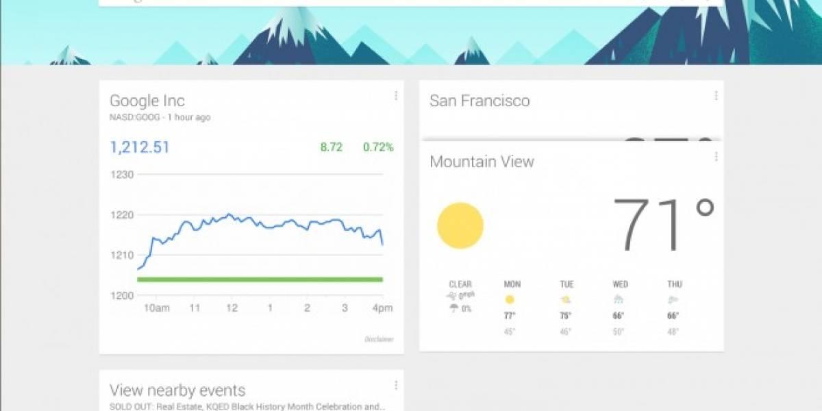 Búsqueda de Google se actualiza a la versión 4.1 con Material Design en Android