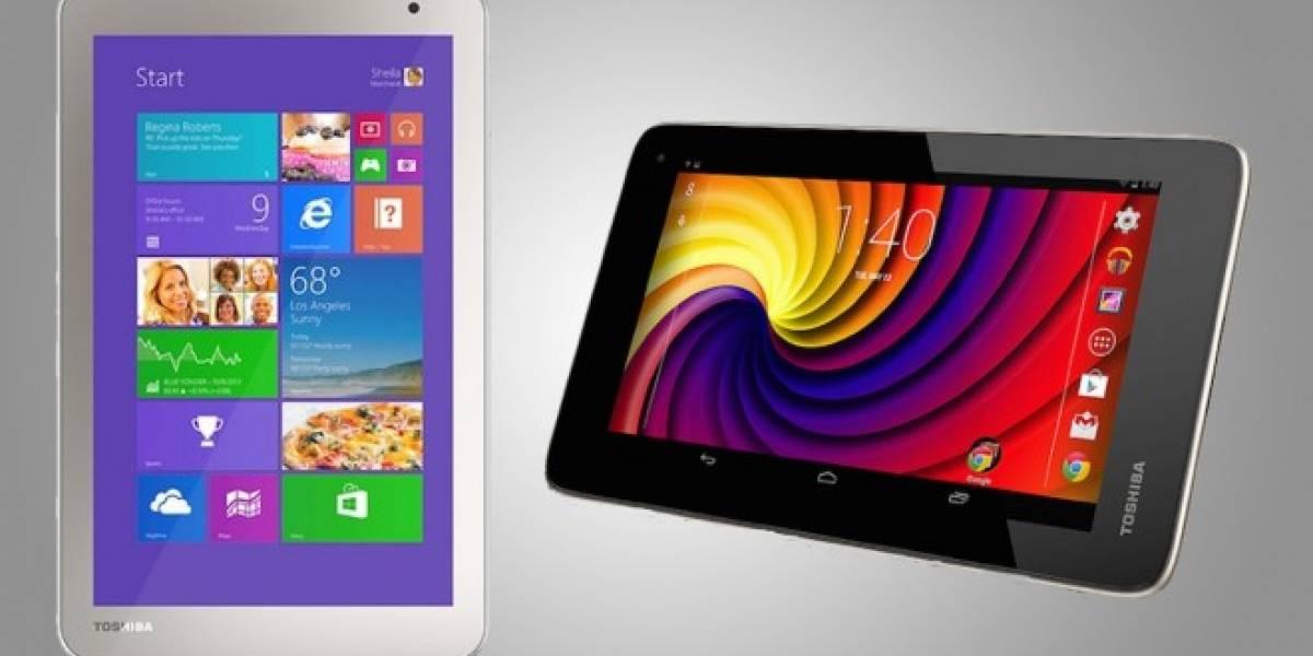 Toshiba presente sus nuevas tablets Encore 2 y Excite Go