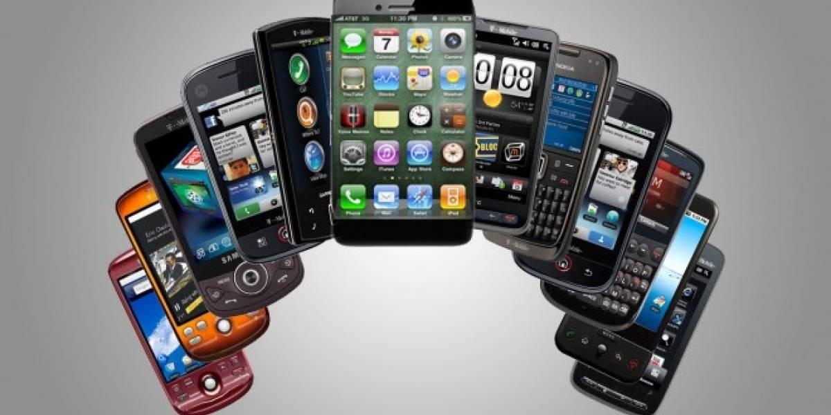 La mitad de los celulares vendidos en Chile en 2013 fueron smartphones