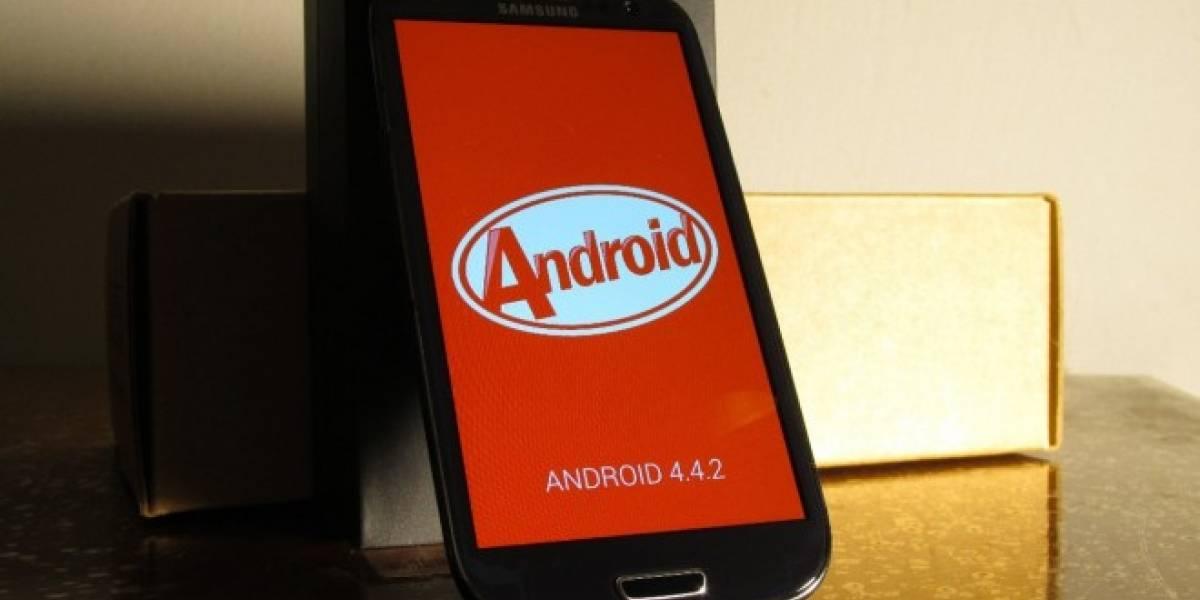 Samsung Galaxy S3 al parecer no será actualizado a Android KitKat
