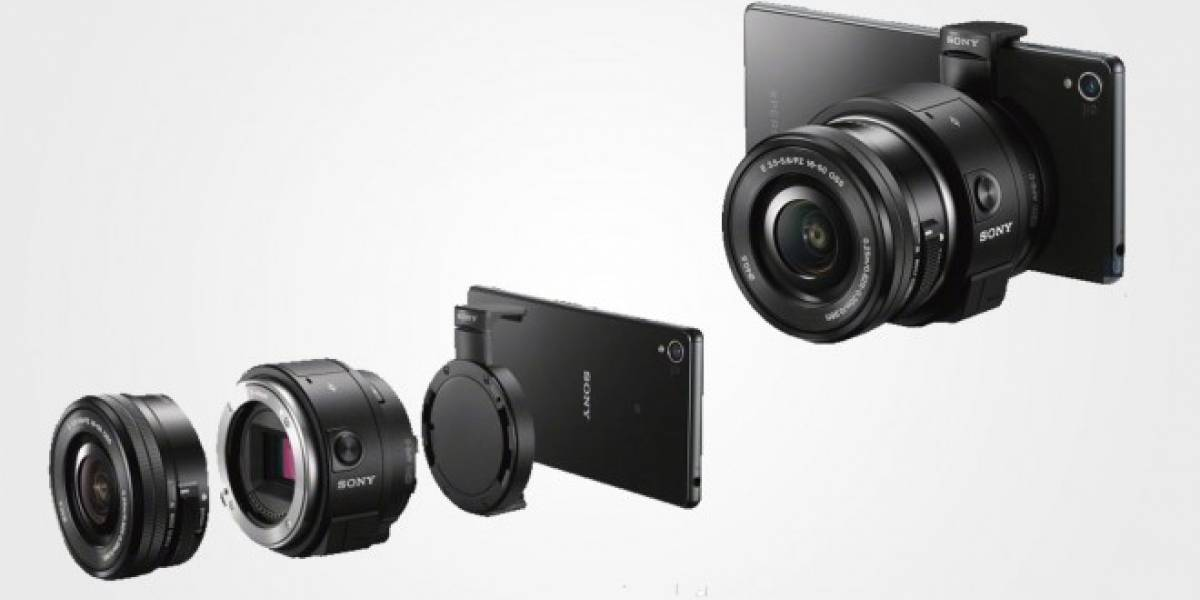 Aparecen detalles e imagen de la Sony QX1 con lentes intercambiables