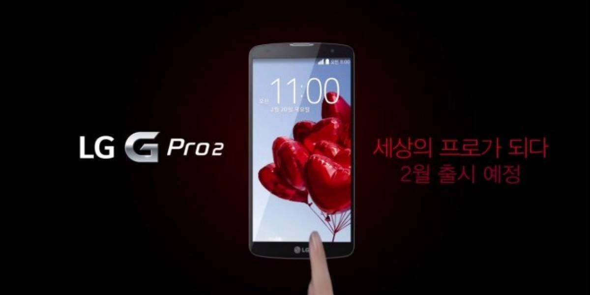 El nuevo LG G Pro 2 ahora aparece en un video oficial